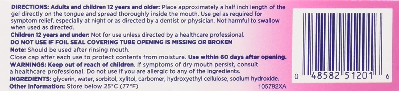 Biotene Oralbalance Dry Mouth Moisturizer Gel 1.50 oz (Pack of 6): Health & Personal Care