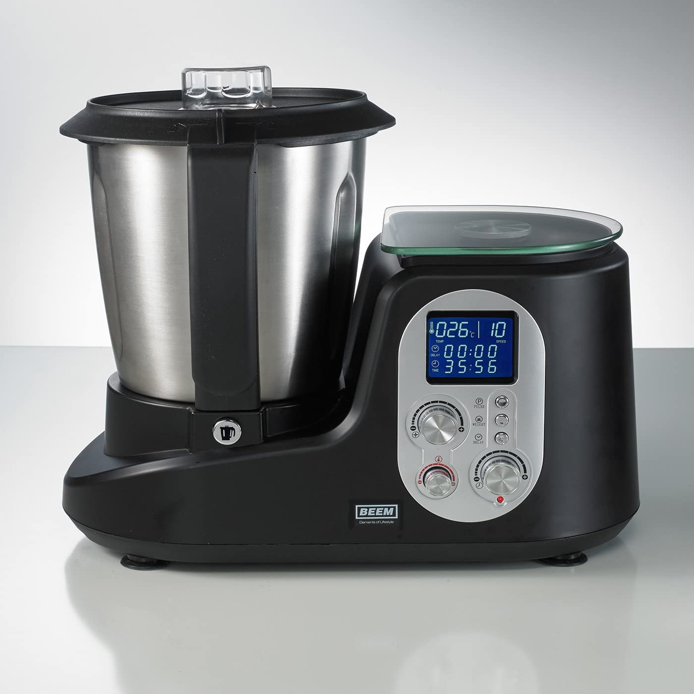 Beem Thermostar Mix & Cook - Robot de cocina, LCD, 1200 W, 2 l ...