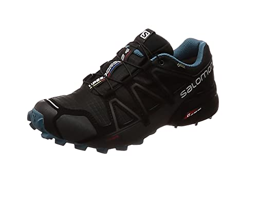 Salomon Speedcross 4 GTX Nocturne 2 Zapatillas de Trail Running Black/Black/Mallard Blue