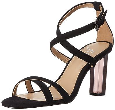 Amazon.com  The Fix Women s Conley Lucite Heel Dress Sandal  Shoes