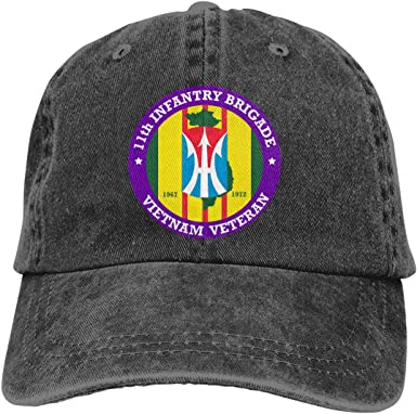 US Army Veteran 3rd Armored Cavalry Beanie Cap Quick Drying Fashion Cap Dad Hat