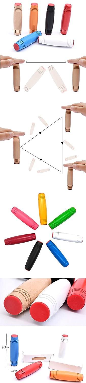 Proud Vision Mokuru Tischspielzeug Spielzeug f/ür Stress Blau Angst und Langweiligkeit Entlassung Autisten