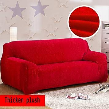 Rutsch Volltonfarbe Anti plüsch Elastische Sofabezug Schutzhülle 0OXPNnw8k
