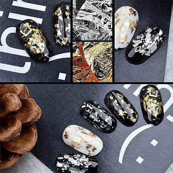 censhaorme Lámina de Papel Etiqueta engomada del Brillo de uñas UV Arte Diseño del Polaco del Gel Productos para Las uñas Herramientas para la decoración: ...