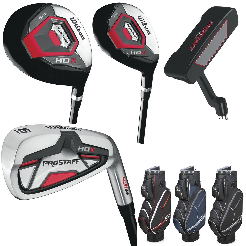 Wilson Prostaff HDX Golf Juego completo de hierro 5 sw ...