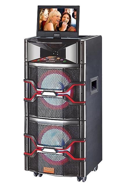 Amazon com: Edison Professional Karaoke 2000 PA Loudspeaker