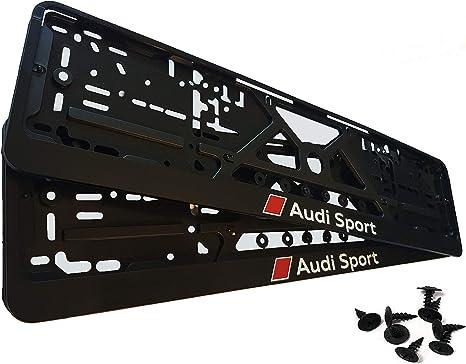 Kennzeichenhalter Für Auto 2 Stück Set Sport Nummernschildhalter Nummernschilder Mit Montage Schrauben Eu Standard Grösse 52cm Auto