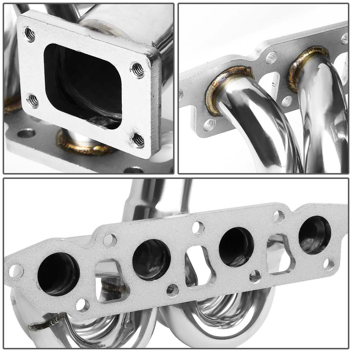 DNA MOTORING TM-RB26-S-T Stainless Steel Turbo Manifold