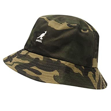 70eb422d Kangol Mens Camouflage Bucket Hat Camo S-M: Amazon.co.uk: Clothing