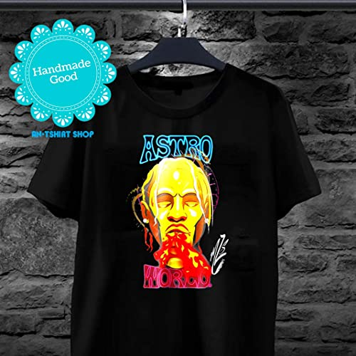 6b85158841a6 Amazon.com: Astroworld-Travis-Scott-shirt Fan Wear Rap Music Xmas Shirt for  men and women: Handmade
