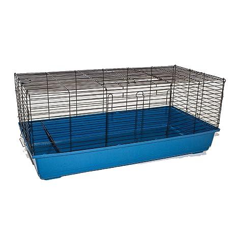 Marko Pet accesorios Jaula para Conejos Cobayas Hutch interior Pet ...