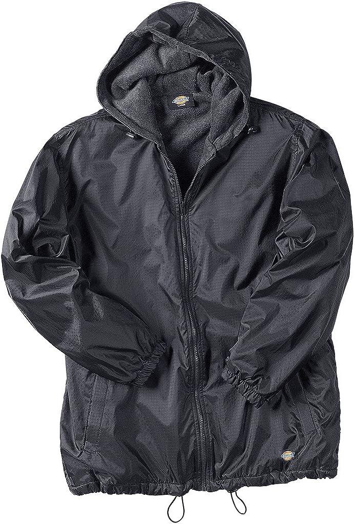 Dickies  Padded Bodywarmer Hood Mens Fleece lined warm Crayford RRP £40.00