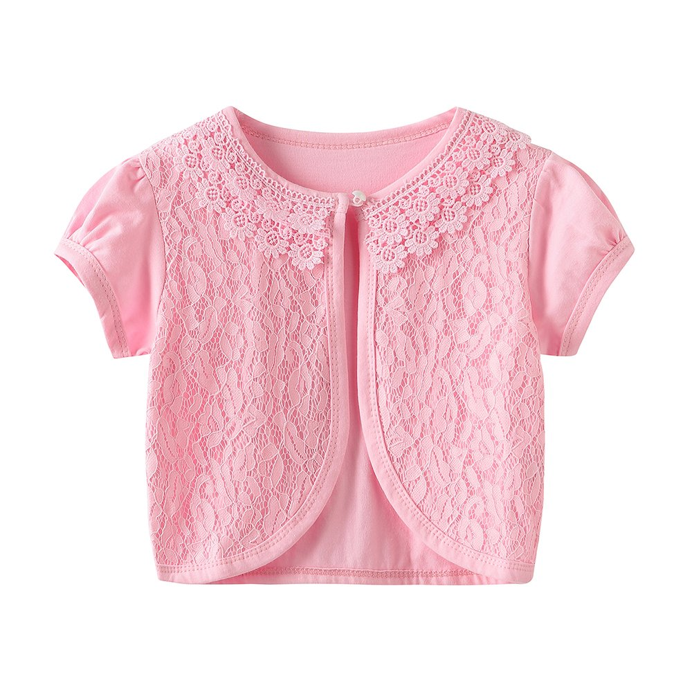 CHENXIN Girl Shrugs Knit Long//Short Sleeve Lace Bolero Cardigan Shrug