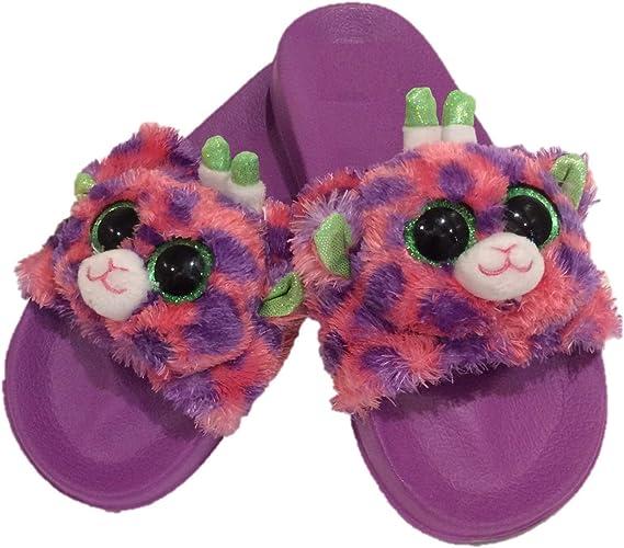 Beanie-Boo Girls Sandals Slides Purple