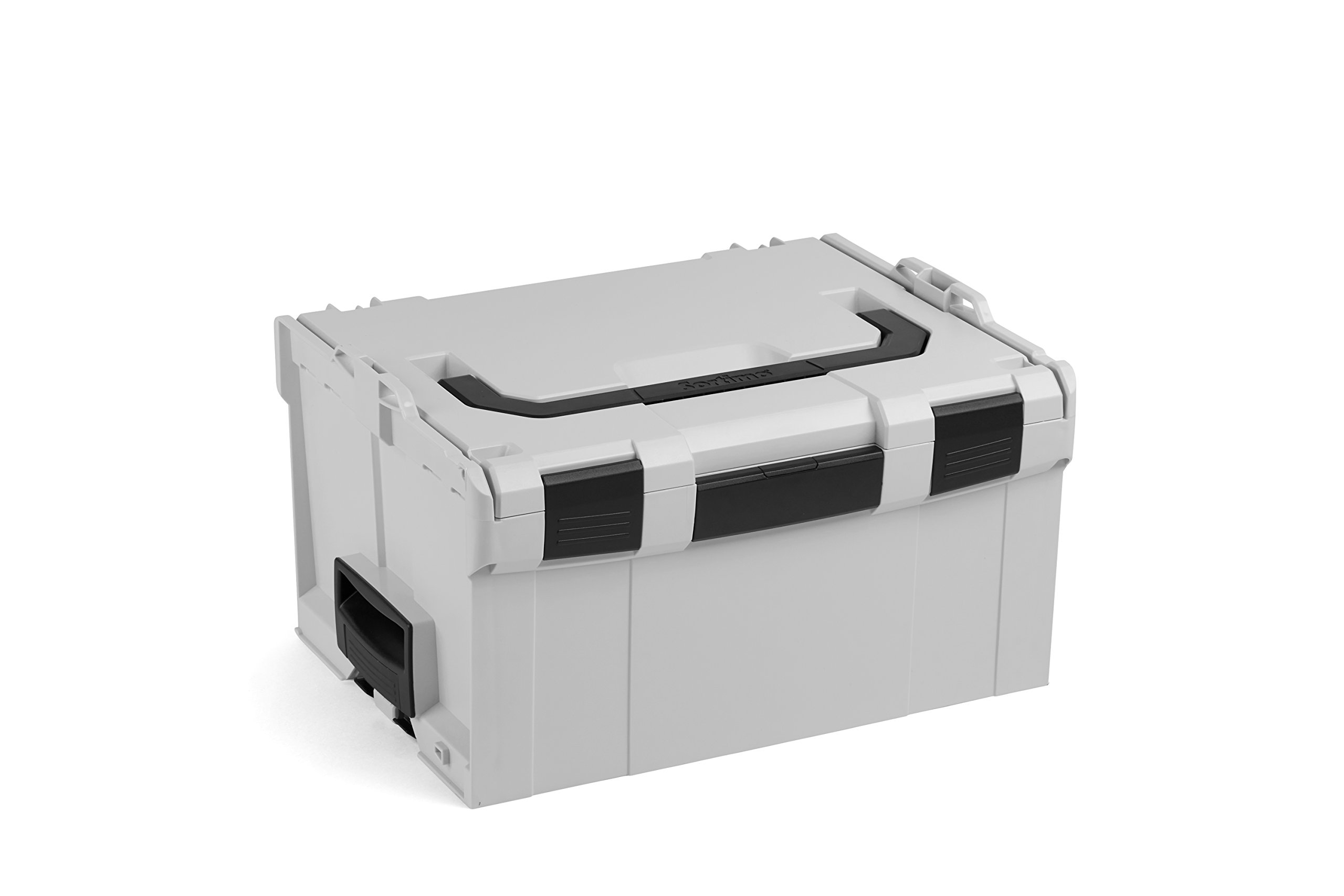 Tool Box Organizer | SORTIMO BOSCH Tools Box L-Boxx 238 Size 3 light Grey | Professional Empty Portable Tool Bag | Tough Tool Box Latches and Locks