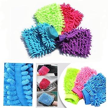 Microfaser Handschuh Waschhandschuh Autowaschhandschuh