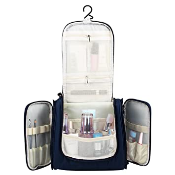 048619286b Image Unavailable. Image not available for. Color  Cocider Toiletry Bag  Travel Hanging Toiletry Bag Cosmetic Kit-Large ...