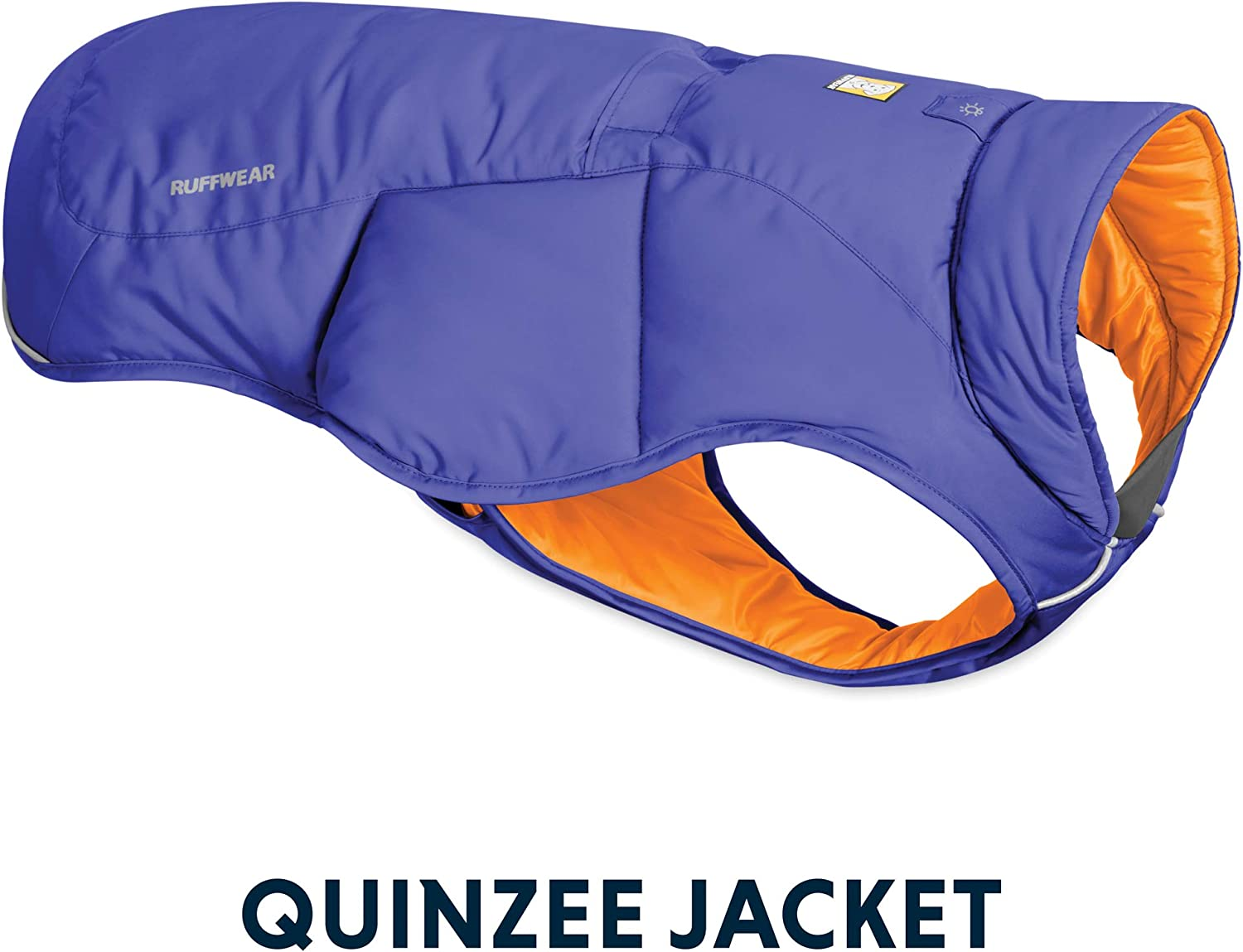 RUFFWEAR - Quinzee Insulated, Water Resistant Jacket for Dogs with Stuff Sack