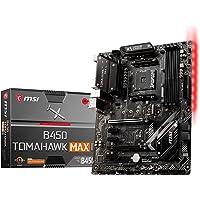 MSI B450 Tomahawk MAX II AM4 Ryzen ATX Motherboard 4xDDR4 5xPCI-e 1xM.2 DVI HDMI RAID LAN 6xSATAIII 1xUSB-C 6xUSB3.2…