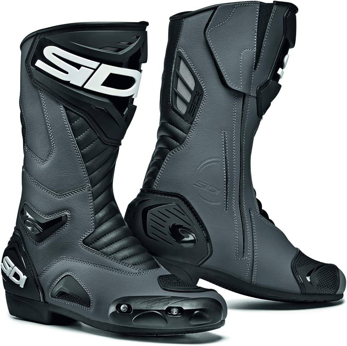 Sidi Performer Motorcycle Boots 45 Black UK 10.5