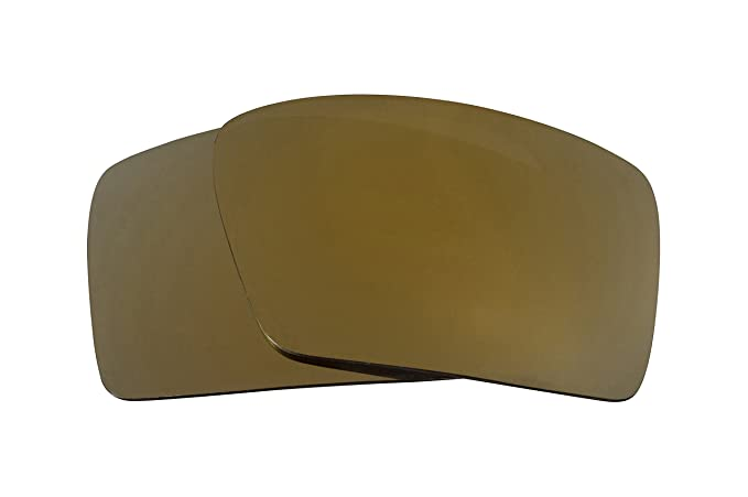 11883b203a Eyepatch 2 Replacement Lenses Gold Mirror by SEEK fits OAKLEY Sunglasses