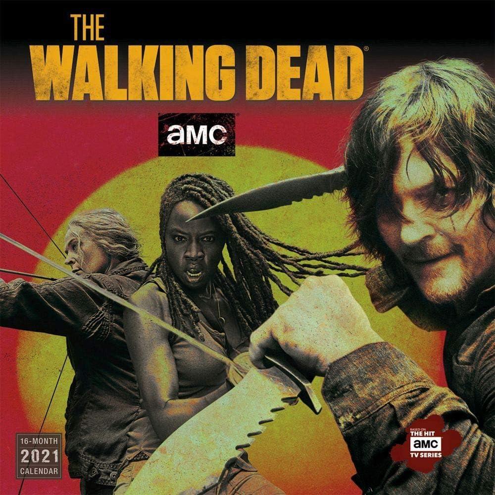 Sellers Publishing, 2021 Walking Dead Wall Calendar