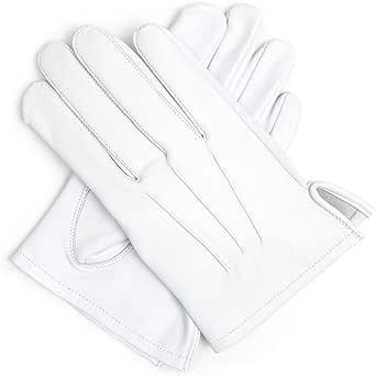Masonic - Guantes de piel suave, color blanco: Amazon.es: Ropa y ...