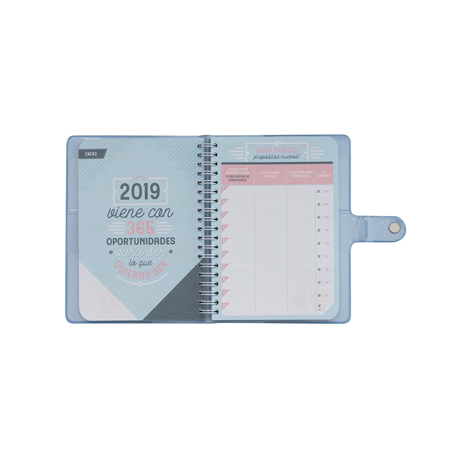 Amazon.com : Mr; Wonderful Woa09143Es Classic Agenda 2019 ...