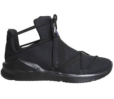1d2c585fcb4 Puma Women s Fierce Rope Velvet Vr WNS Black Multisport Training Shoes-5  UK India (38 EU) (19023502)  Amazon.in  Shoes   Handbags