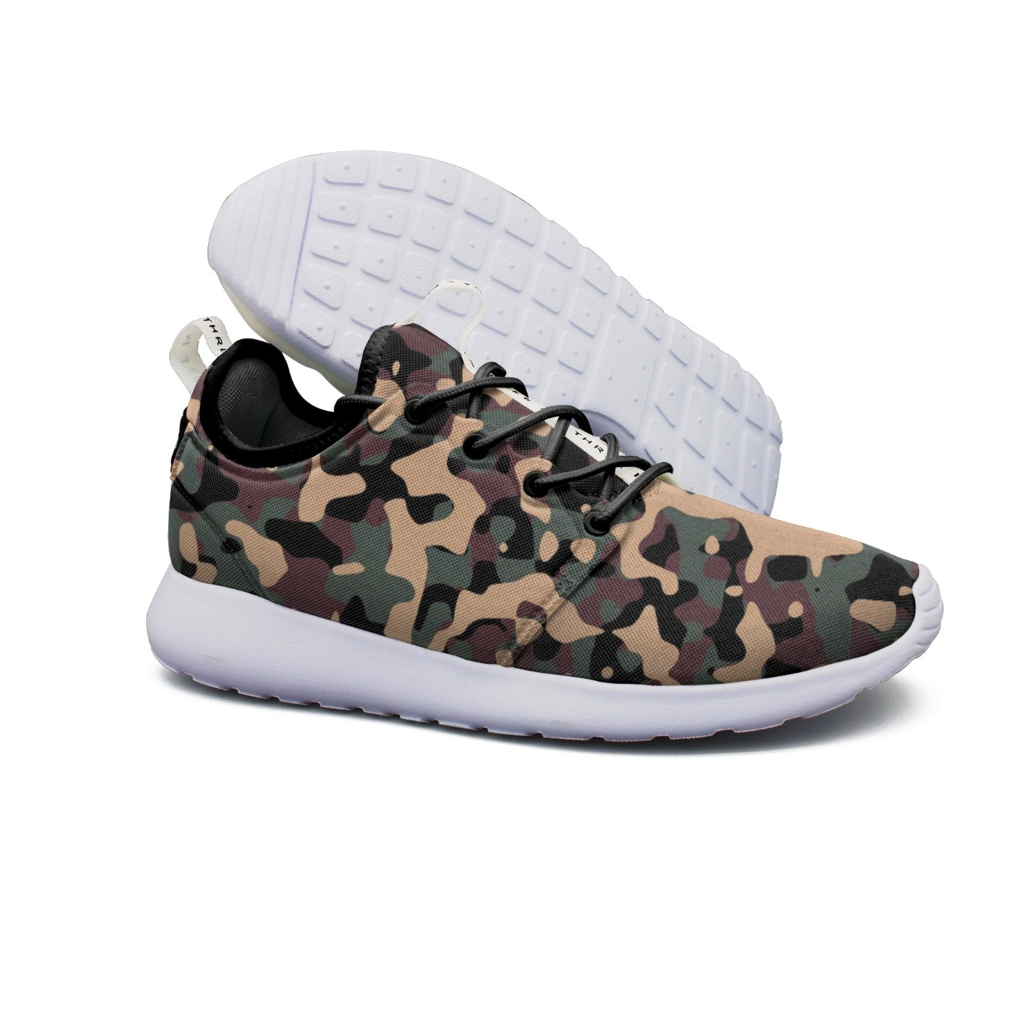 Lightweight Shoe Soldier Camouflage Breathable Mesh Running Shoes