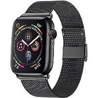 Waband Correa del Reloj Compatible con Smart Watch de 38mm 40mm 42mm 44mm, Pulsera para Reloj de Reemplazo de Acero…