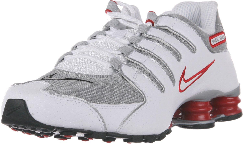 Alta venta de descuento Nike Shox NZ Blanco/Sport Rojo/Cool Gris/Metallic plata 542XO