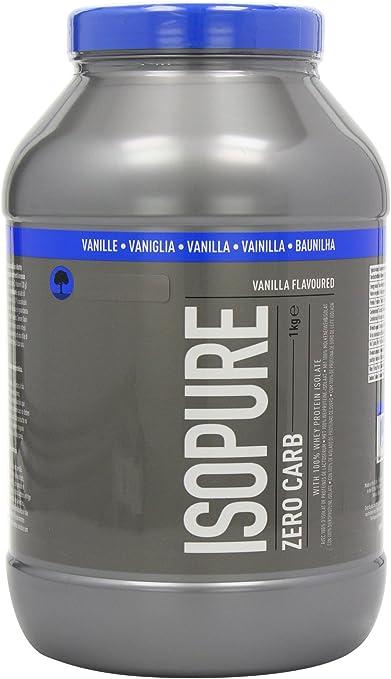 Isopure Whey Bajo Carbohidratos y Bajo Azúcar, Vanilla - 1000 g