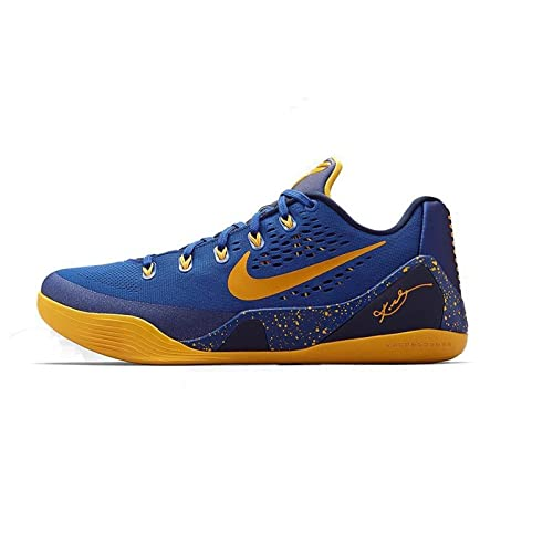 brand new ccc0a c5b9b Nike Kobe IX Gym Blue 9 Kobe Bryant Men Basketball Shoes Low New (Blue,  14): Amazon.ca: Shoes & Handbags
