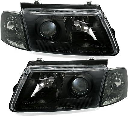 Ad Tuning Depo Scheinwerfer Set Klarglas Schwarz Frontblinker Auto