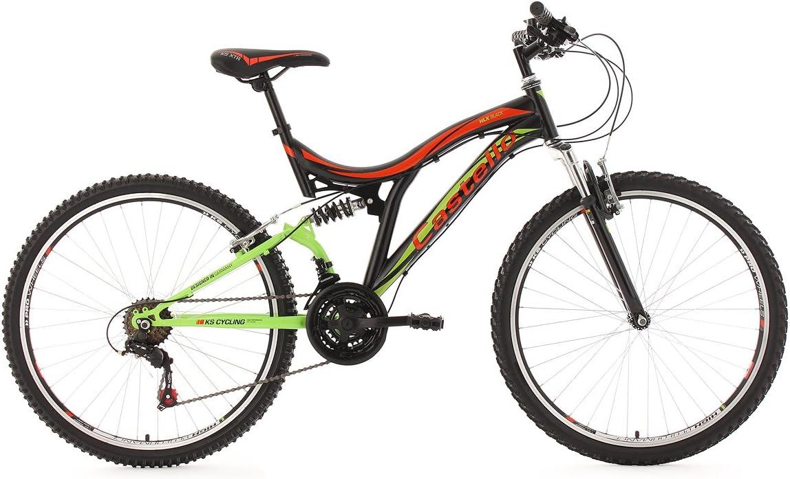 KS Cycling 110M - Bicicleta de montaña , talla L (173-182 cm ...
