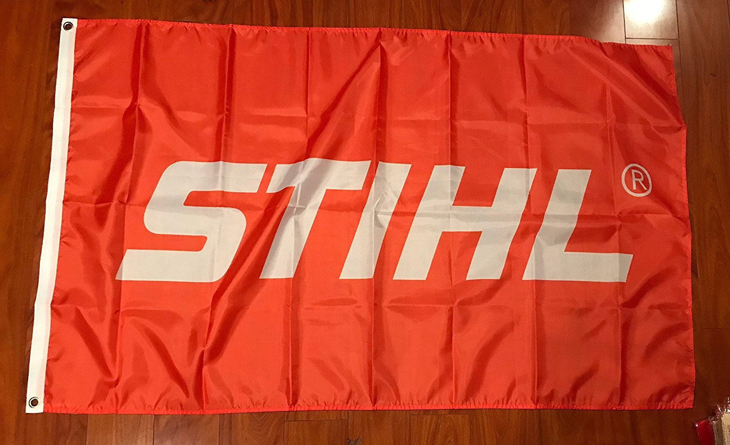 Stihl Flag Orange Banner Chainsaw Chain Saws Saw Tools Equipment 3 x 5 Feet