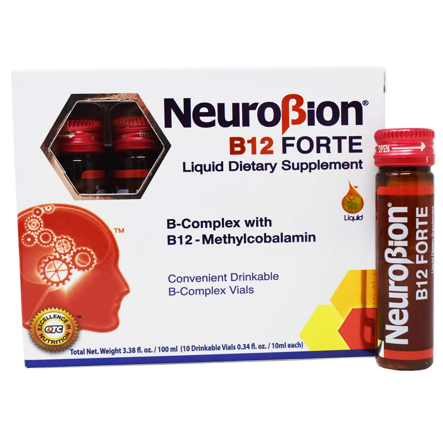 Neurobion B12 Forte 10 Vials x 10 ml packaging may vary