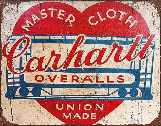 MiMiTee 1930 Carhartt Overalls Cartel De Chapa Placa Metal ...