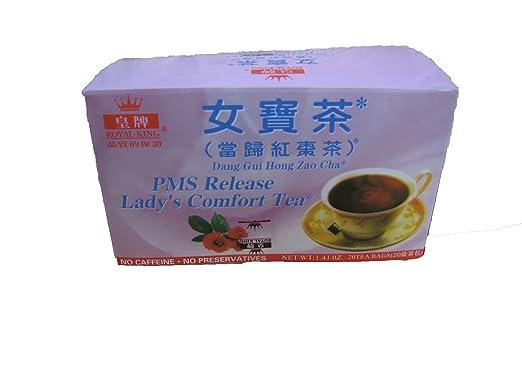 PMS – Release Lady comodidad del té – 20 bolsas: Amazon.com ...