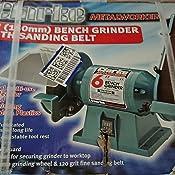 Clarke Metalwork Bench Grinder Sand Belt 6 Inch Amazon Co