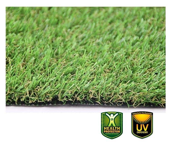 16 opinioni per XONE Prato 25 mm H2x10mt Tot 20m2 | Erba Giardino Artificiale | Tappeto Verde