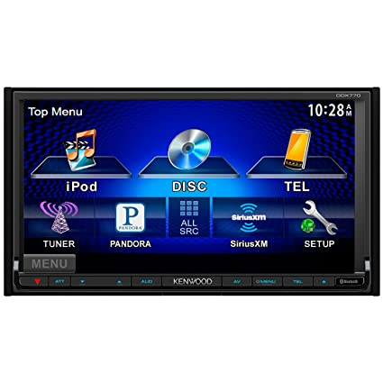 amazon com ddx770 car dvd player 7 touchscreen lcd 88 w rms rh amazon com Kenwood DDX319 Kenwood DDX419
