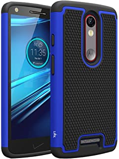 LK Case for Droid Turbo 2, [Shock Absorption] Hybrid Dual Layer Armor Defender