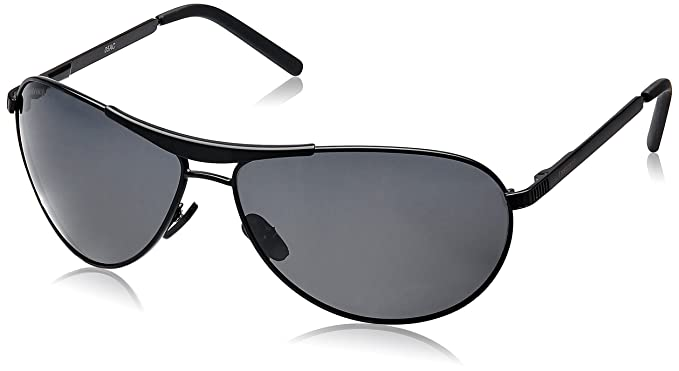 2860fbfd385 Fastrack Aviator unisex Sunglasses (M062BK1Black)  Amazon.in ...