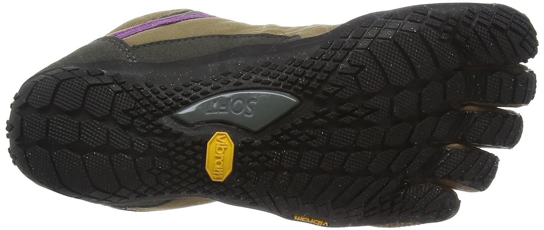 Vibram Trek Ascent Insulated-Women's Shoe B01149BVPS 42.0 B EU (9.5-10 US)|Khaki/Grape
