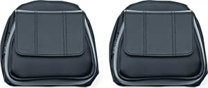 Kuryakyn 5208 Lower Fairing Panel Door Pockets with Magnetic Closures for 2014-19 Harley-Davidson Motorcycles, Black, 1 Pair