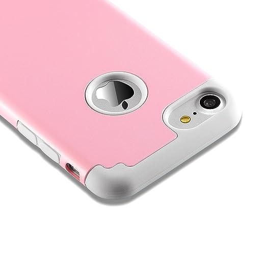 21 opinioni per iPhone 7 Cases, Case Cover duplice ibrido per iPhone 7 4,7 pollici. Cover duro