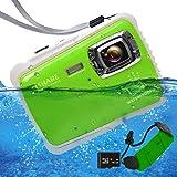 "ISHARE Waterproof Kids Camera, Underwater Digital Kids Camera 21MP Full HD 1080p Video Cute Camera 2.0"" LCD, 8X Digital…"