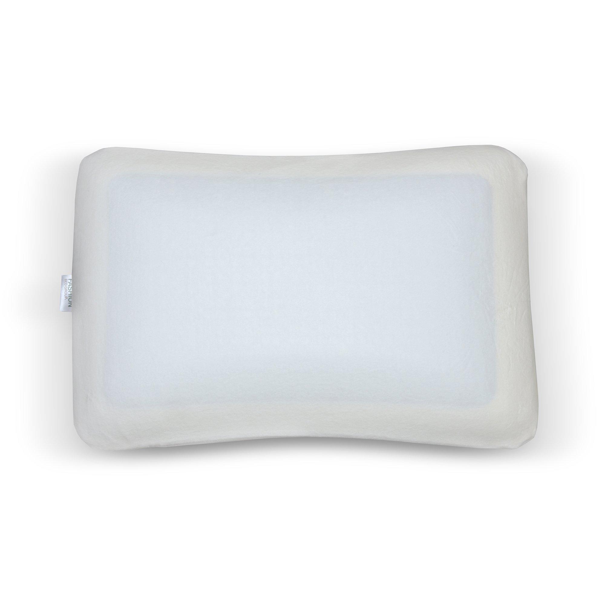 Fashion Bed Group Sleep Chill Gel Memory Foam Pillow, Standard/Queen